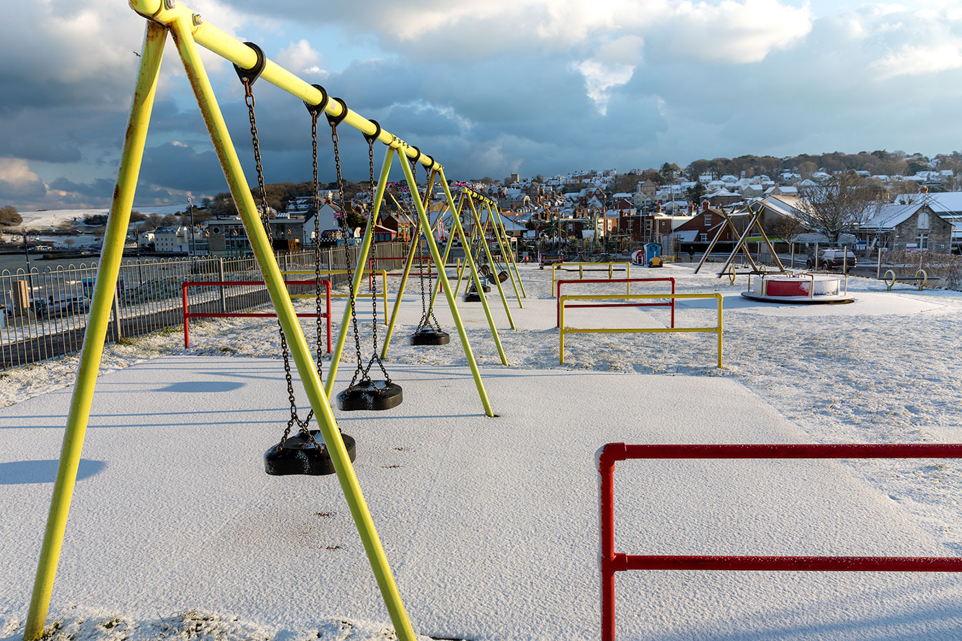 Snow on the Swings