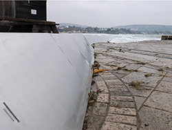 Temporary sea defences - Ref: VS1828