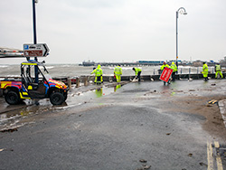 Click to view Sea Defences being repaired
