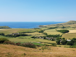 Click to view Kimmeridge Village and Bay