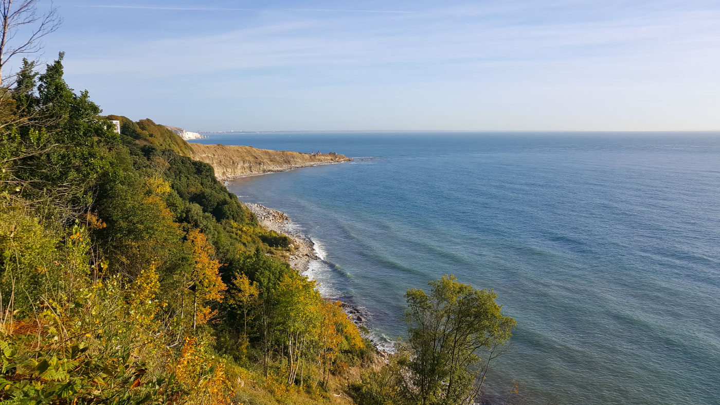 Durlston Bay in the Autumn