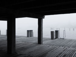 Click to view Fog at the piers