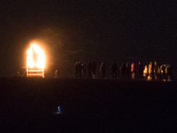Click to view Armistice Day Beacon on the Purbeck Hills