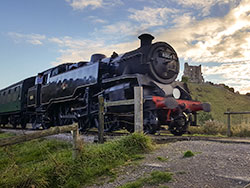 Click to view Corfe Castle and the Railway