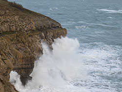 Storms at Durlston Cliffs - Ref: VS1883