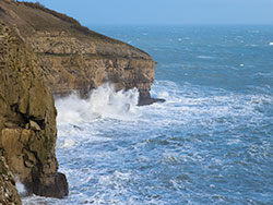 Click to view Storms at Durlston Head