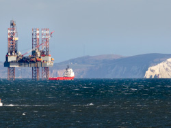 Click to view Temporary Exploration Oil Platform