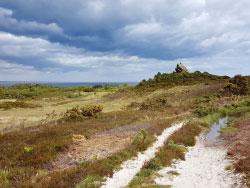 Click to view Stormy Skies over Agglestone Rock