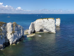 Click to view The Foreland and Old Harry Rocks
