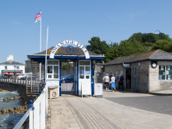 Click to view Entrance to Swanage Pier