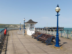 Click to view Swanage Pier kiosk