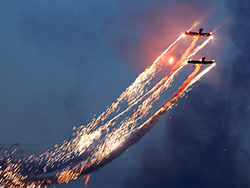 Click to view FireFlies Aerobatic Display Team at the carnival