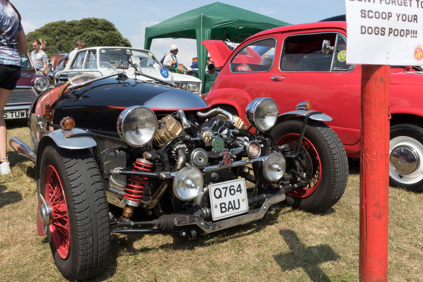 Classic Car show at Swanage Carnival