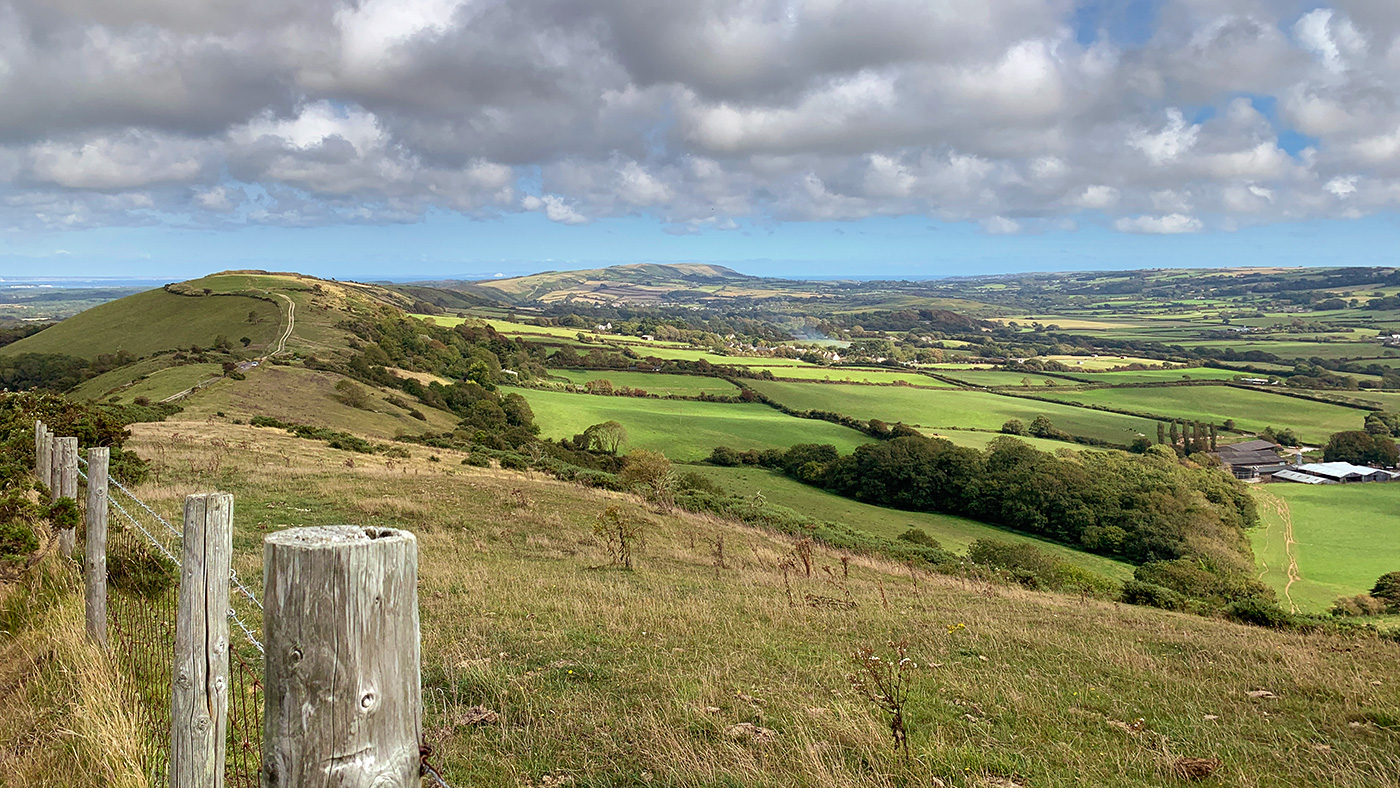Along the Purbeck Hills