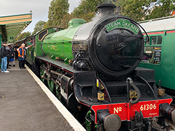 Click to view 61306 Mayflower Steam train at Swanage
