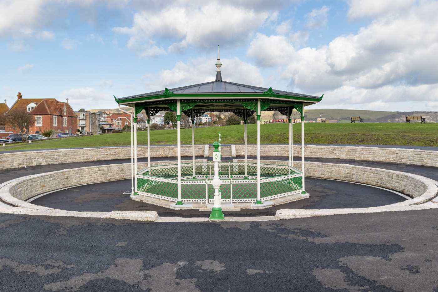 Swanage Bandstand Refurbished