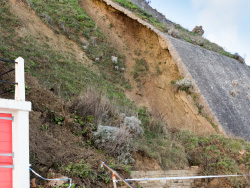 Click to view Ocean Bay Landslide near the Grand Hotel