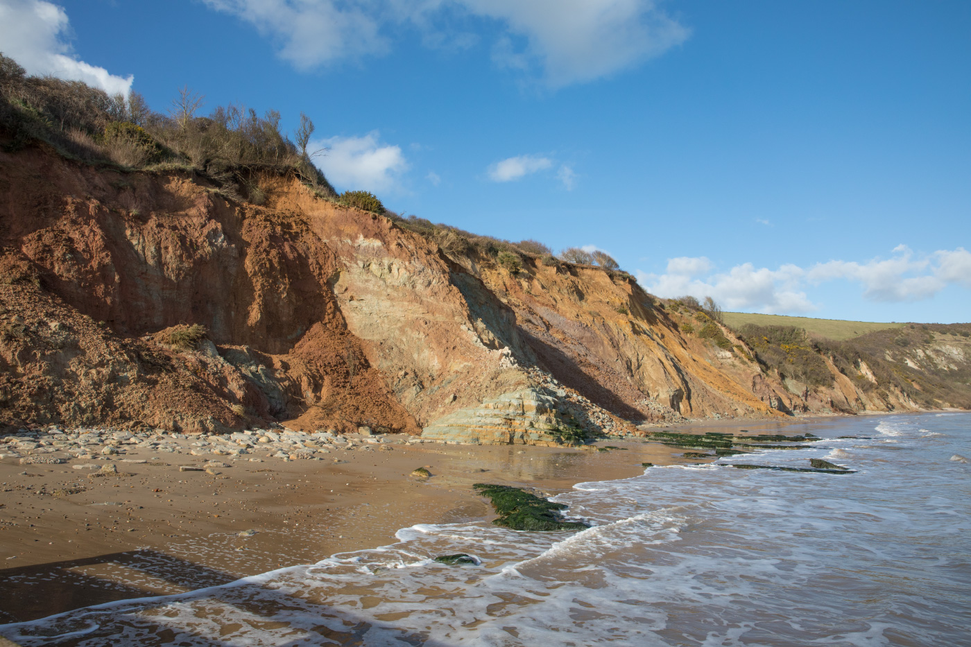 Sheps Hollow landslides 26 Feb