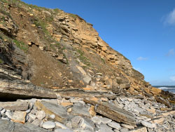 Click to view Peveril Point Landslides