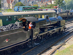 Click to view No. 31806 on Swanage railway