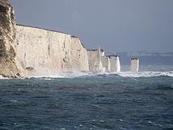 Old Harry in Storm Alex - Ref: VS2127