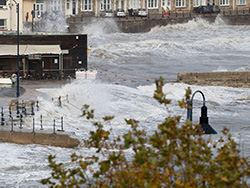 The Stone Quay in Storm Alex - Ref: VS2129