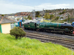 Click to view Eddystone returns to Swanage Railway