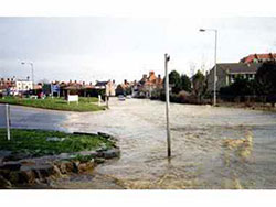 Kings Road Flood in 1990