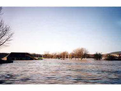 King Georges Flooded in 1990