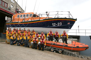 Swanage Lifeboat crew